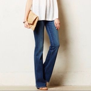 PAIGE Hollywood Hills Classic Rise Boot Cut Jeans
